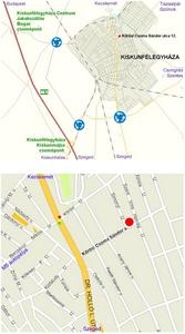 Kiskereskedelem - ELTSZER Kft., Kiskunfélegyháza - a kiskereskedelmi üzlet megközelítése