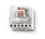 Finder 26.01, példa - Finder 26-os sorozat - Kompakt léptető-relék, impulzus-relék
