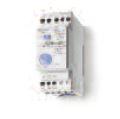Finder 72-01 folyadékszint-figyelő relé, példa - Finder 72 - Folyadékszint-figyelő relék, úszó szintkapcsolók