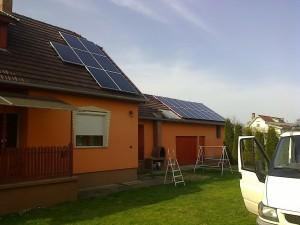 Kiskunfélegyháza, Bankfalu – 5 kW napelem rendszer kiépítése, 3-as kép