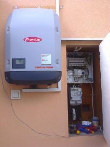 Kiskunfélegyháza, napelemes rendszer bővítése 4 kW-ról 5 kW-ra, 2. kép
