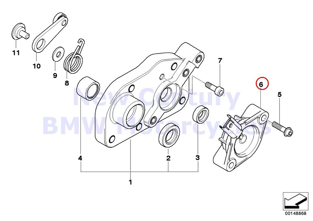 BMW Genuine Motorcycle Potentiometer With Wire A15 A40 K21