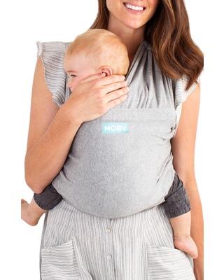 Moby fit | la mochila portabebés de tela elástica
