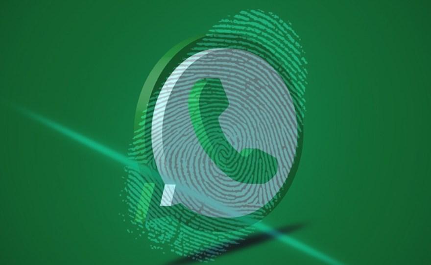 Resultado de imagen para whatsapp huella dactilar