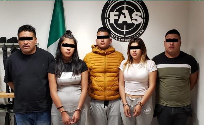 Cae banda por robo y secuestro exprés; operaba afuera de bar en Polanco
