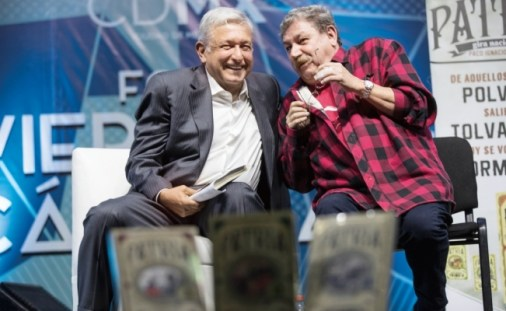 Image result for taibo ii problemas amlo