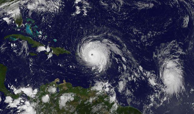 """""""Irma"""" llegará a Puerto Rico como el mayor huracán del Atlántico"""