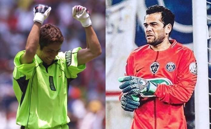 Dani Alves se compara con Jorge Campos