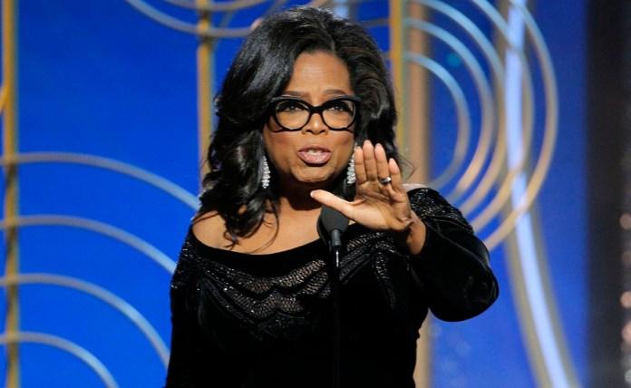 Oprah Winfrey se pregunta: ¿Se supone que debo dirigir EU?