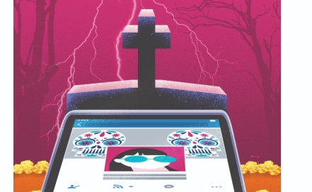 What happens with your social networks when you die?