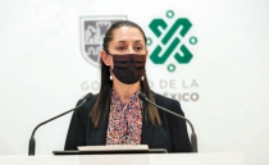 Claudia Sheinbaum Pardo, jefa de gobierno de la Ciudad de México