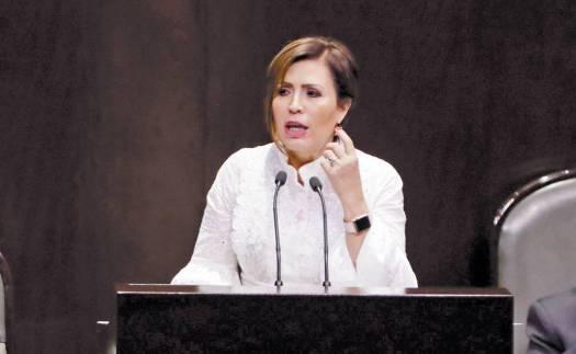 Rosario Robles, exsecretaria de Desarrollo Social