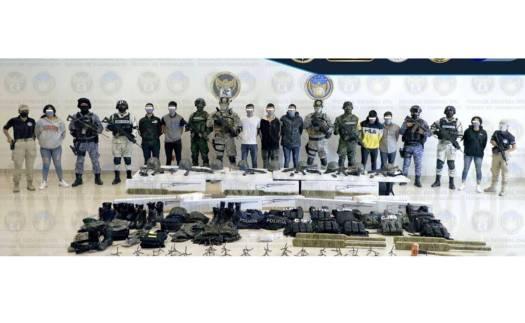 Caen 13 presuntos integrantes de grupo criminal en Guanajuato; 4 son adolescentes