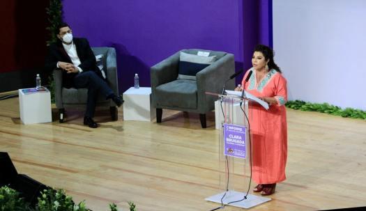 Clara Brugada agradece a AMLO y Sheinbaum apoyo para reducción de delitos de alto impacto en Iztapalapa