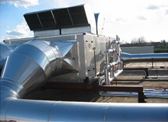 Tratamiento de aire y climatizacin industrial