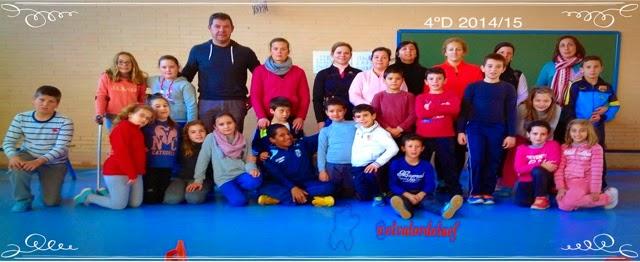 foto 4ºD discapacidad y familia en educación física: educación física en familia