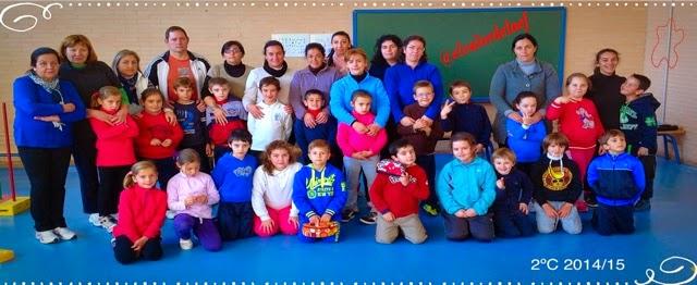 foto 2ºC discapacidad y familia en educación física: educación física en familia