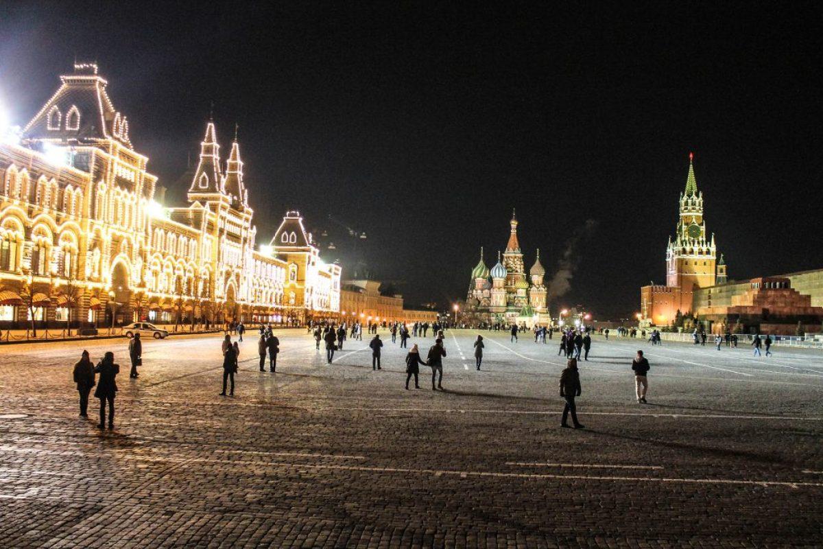 Plaza Roja de noche-6