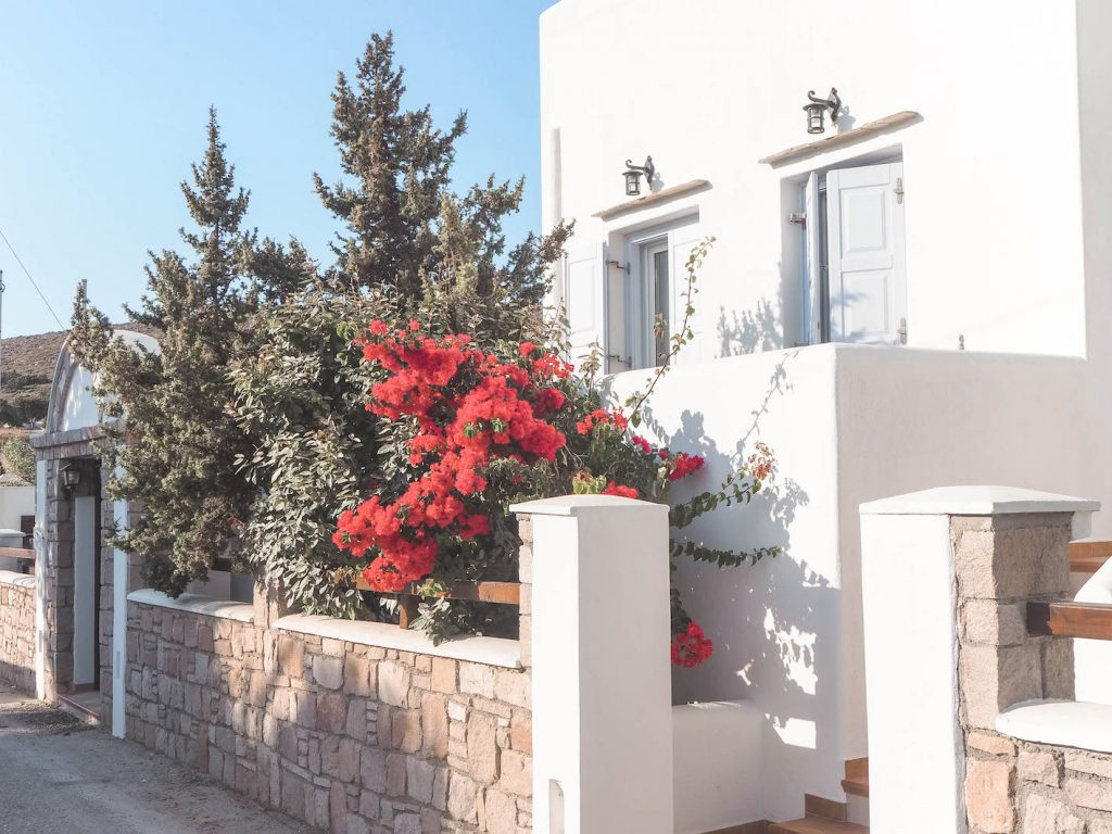 Alojamiento en Milos