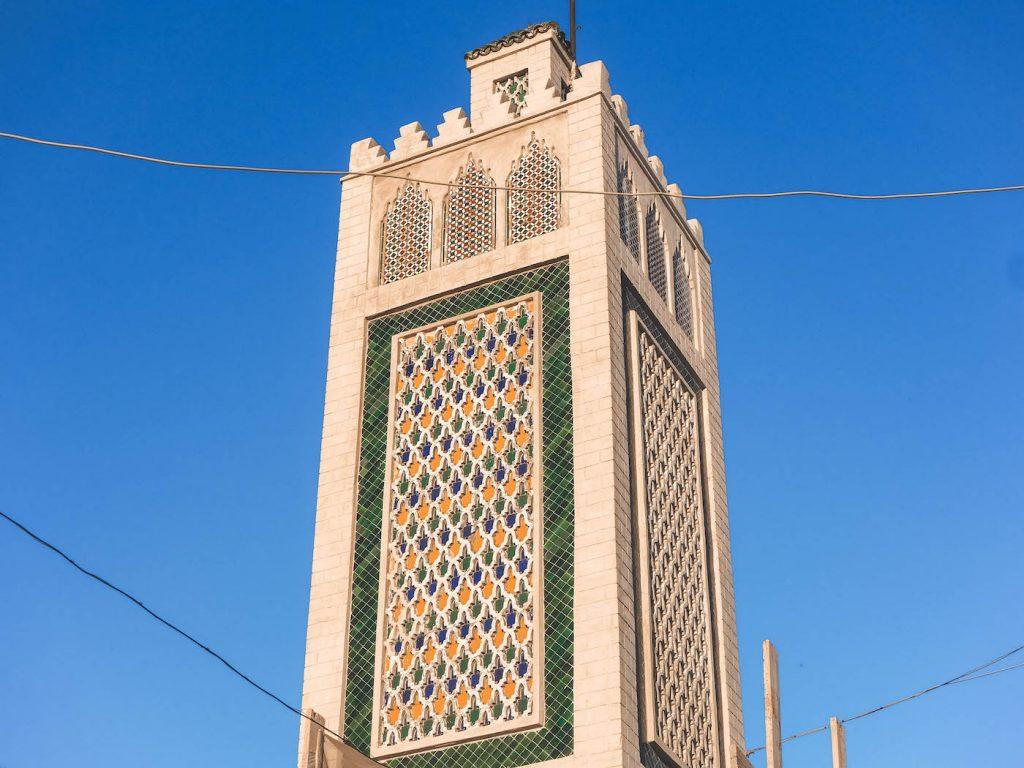 Minarete en Tetuán