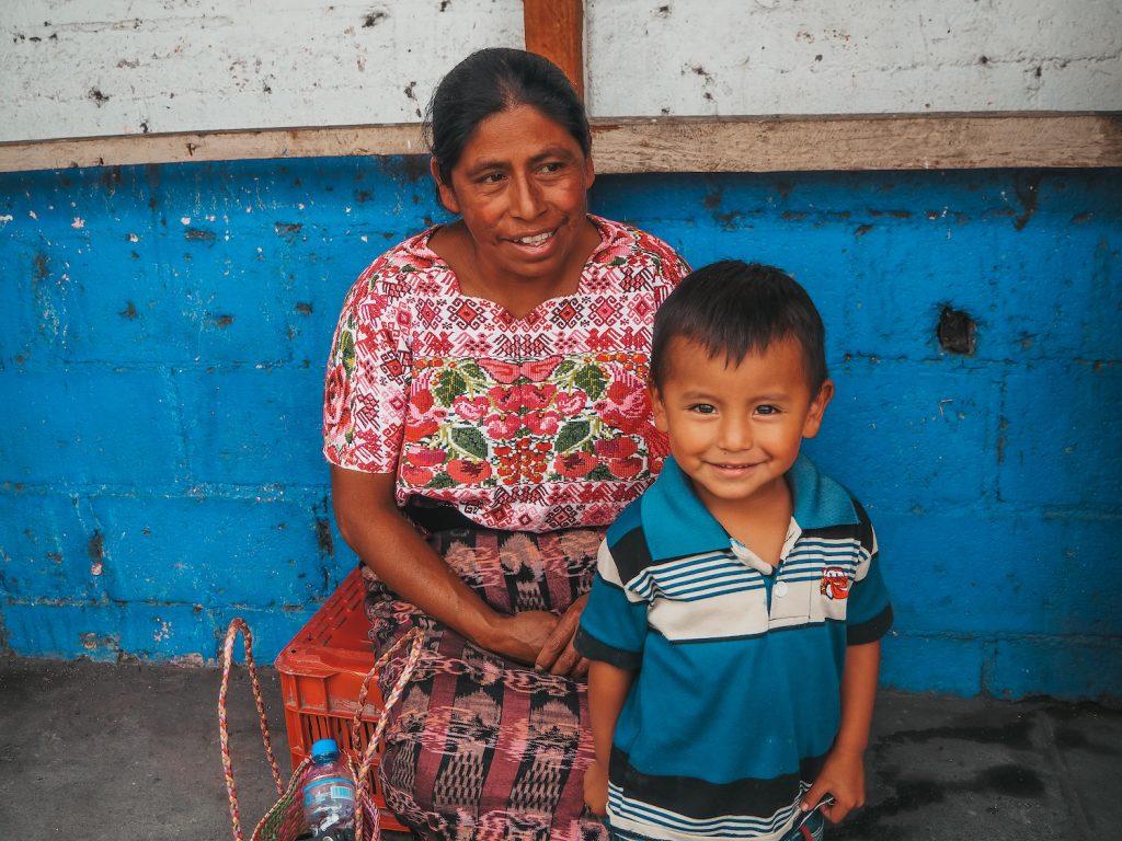 Panajachel en Guatemala