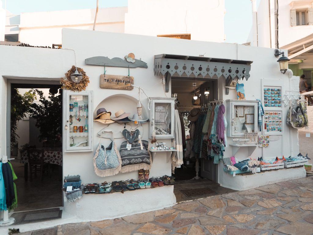 Tiendas en Koufonisia