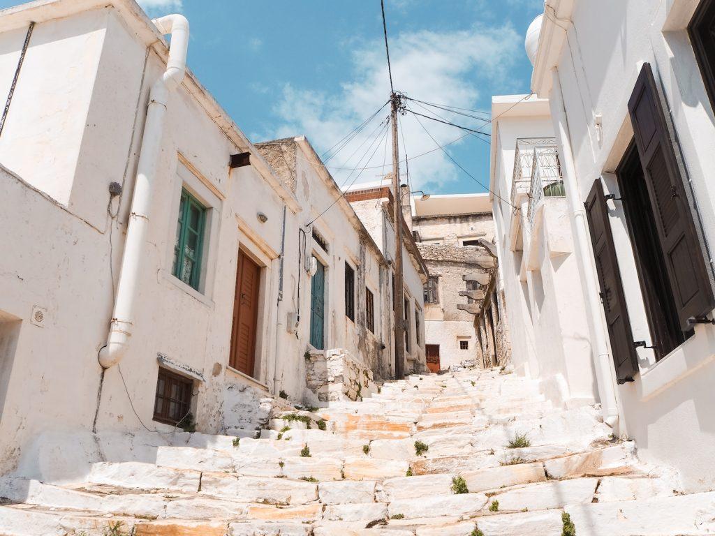 Pueblos de interior de Naxos