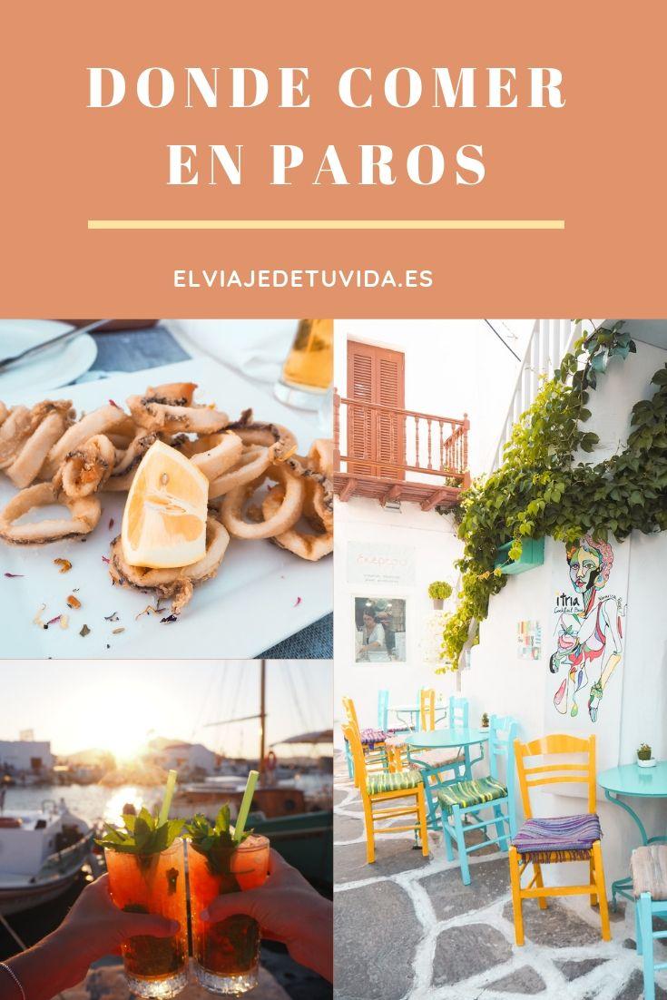 Donde comer en Paros