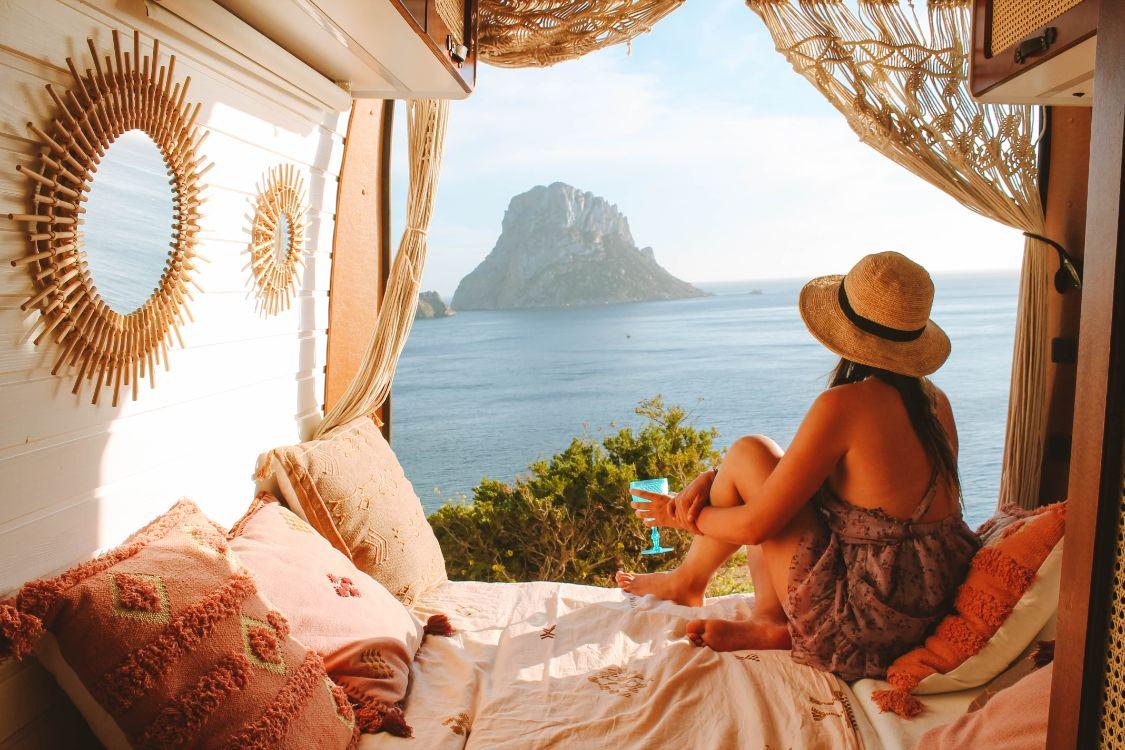 Ibiza en furgoneta camper