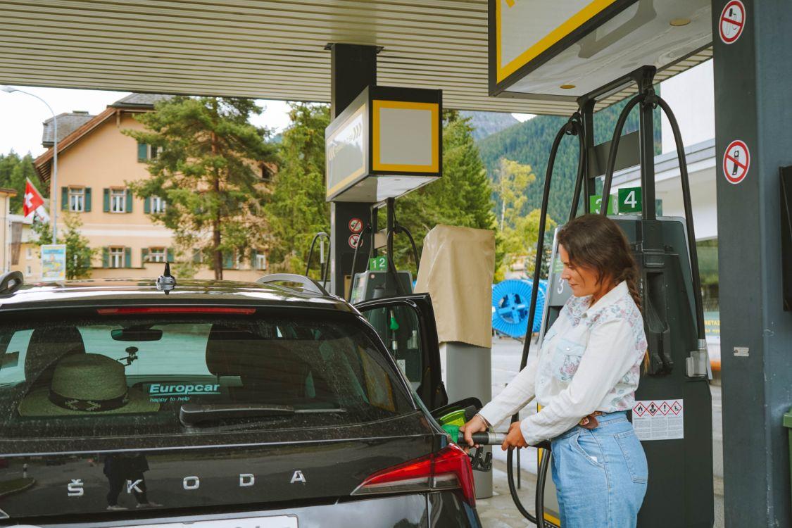 Gasolina en Suiza