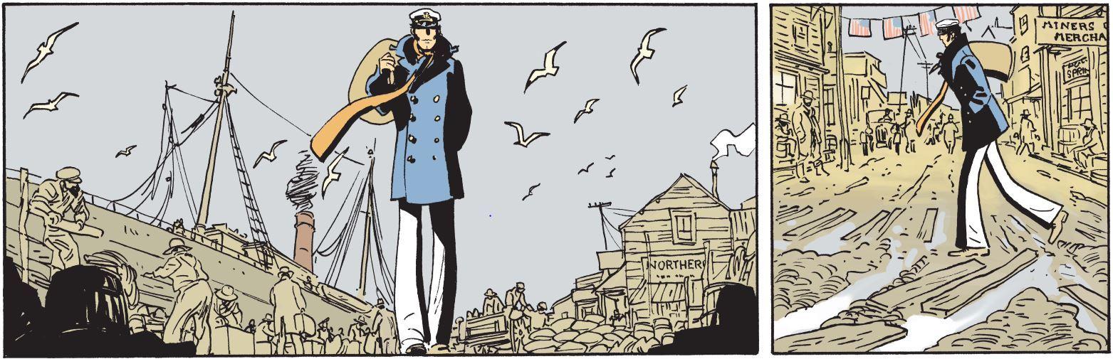 Hugo Pratt creo a Corto Maltese