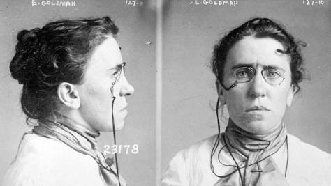 Emma Goldman muerte de Kropotkin