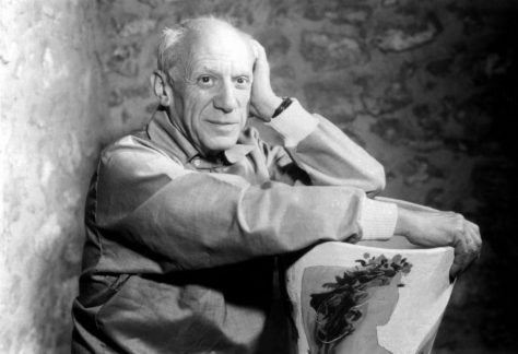 Pablo Picasso afiliado al Partido Comunista