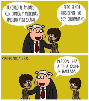 Los millones para Venezuela