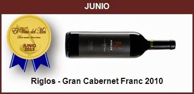 Junio - Riglos - Gran Cabernet Franc 2010
