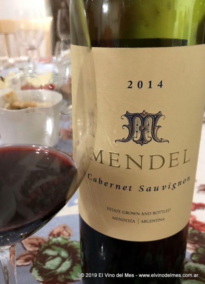 Resumen 2019 de El Vino del Mes - Mayo: Mendel Cabernet Sauvignon 2014