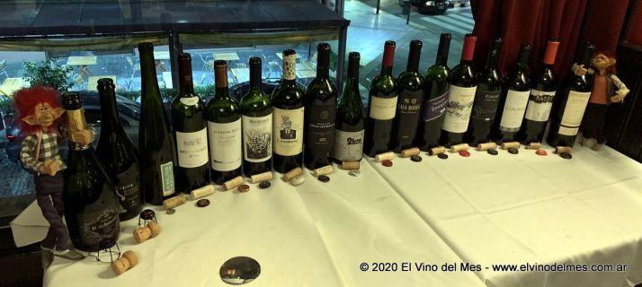 Los duendes del vino y las  botellas