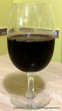 copa de vino con tallo corto