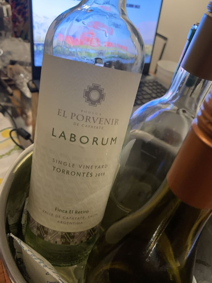 Clínica de Torrontés Calchaquí: Laborum Single Vineyard Torrontés