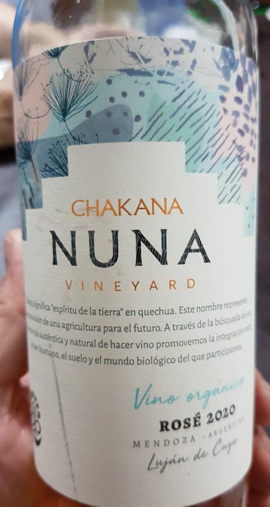 Chakana Nuna Vineyard Rosado 2020 - Vinos Naturales, Orgánicos y Biodinámicos