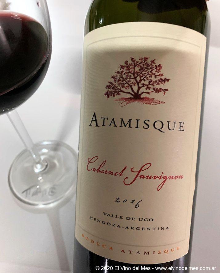 Atamisque Cabernet Sauvignon 2016 - El Vino del Mes de Diciembre