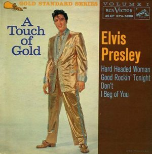 Introduction to A Touch Of Gold: cover of the EP album A TOUCH OF GOLD, VOLUME 1.