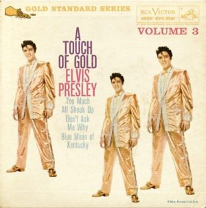 Introduction to A Touch Of Gold: cover of the EP album A TOUCH OF GOLD, VOLUME 3.
