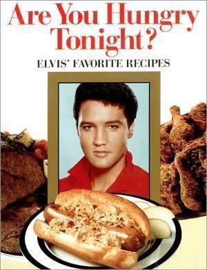 Good Omens: cover of ARE YOU HUNGRY TONIGHT? cookbook.