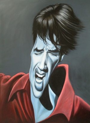 Golden Caricatures Volume 6: Elvis in the 60s by Ric Machin.