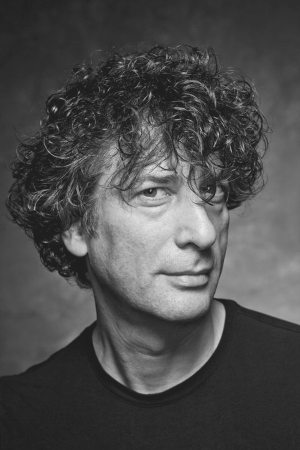 Good Omens: photo of Neil Gaiman.