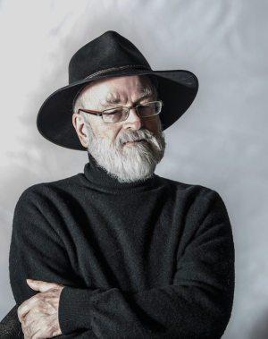 Good Omens: photo of Terry Pratchett.