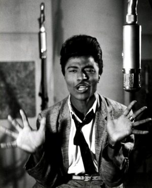 Quora Question: photo of Little Richard in the studio in 1955.