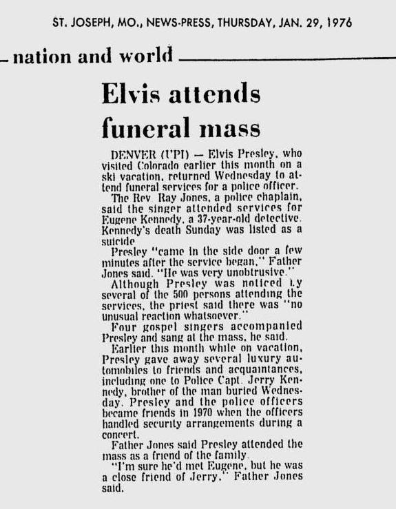Image result for elvis presley january 28, 1976