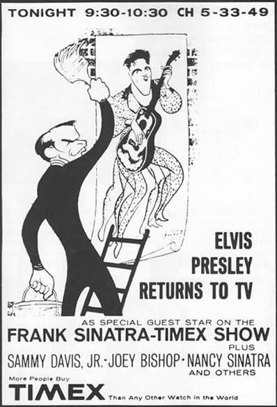 Elvis Presley on Frank Sinatra's 1960 TV Special